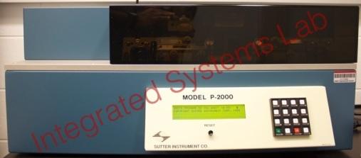 Sutter P2000 pipette puller